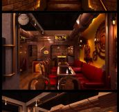 Awesome Steampunk Restaurant In New Deli