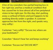 Customer Kicks A Partially Deaf Employee Because She Couldn't Listen To Her. But Didn't Expect This From The Manager.