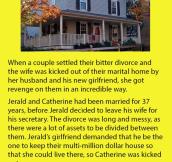 Man Kicks Wife Out Of House, She Gets Ultimate Revenge
