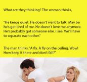 A Man And A Woman Were Lying In Bed. What Followed Is Priceless.