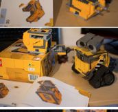 When A Wall-E Builds A Wall-E