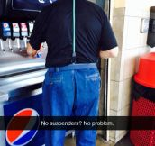 Who Needs Those Useless Suspenders Anyway?