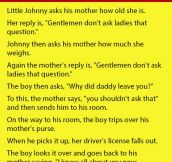 Little Johnny Asked His Mother About Her Age. You Won't Believe What Happened Next.