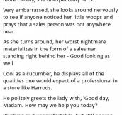 This Woman Farted In A Luxury Store. But She Wasn't Prepared For This.