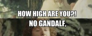 Gandalf Is Getting Tired Of Your Crap