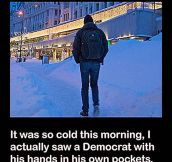 It's Really Cold