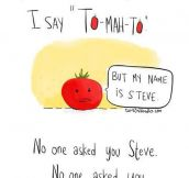 How To Pronounce Tomato