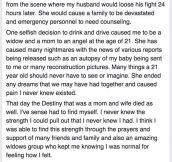 Woman Has No Idea She Could Lose Her Family Due To One Selfish Act By A Stranger. This Is Heartbreaking.
