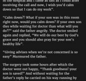 Man Yells At His Doctor For Being Late. But Never Expected What Followed.