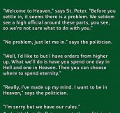 This Is The Best Way To Explain How Politicians Work. This Is Priceless.