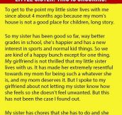 Boyfriend Is Stunned When He Found Out His Girlfriend Had Been Lying About His Little Sister. This Is Shocking.