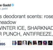 Deodorant Scents