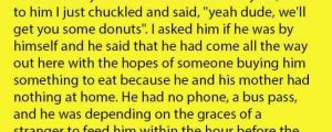 A Poor 16-Year Old Asked Everyone At The Store To Buy Him Some Donuts. He Was Refused By Many But Then This Happened.