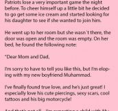 Father Finds Shocking Note From His Daughter & Learns An Important Lesson.