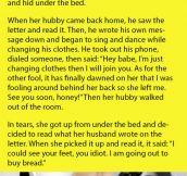 Wife Gives Her Husband A Cheating Test. That's When She's SHOCKED By The Unexpected Results…