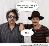 Sums Up Johnny Depp And Tim Burton's Relationship