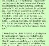 """A """"Snobby"""" White Man Approached A Black Woman And Her Baby. Onlookers Were Shocked When He Did This."""