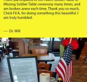 An Animal Doctor Posted This Online After His Son Caught A Local Chick-Fil-A Doing This.