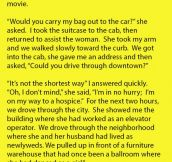 New York City Cabby Picked Up An Interesting Fare. His Story Is Truly Remarkable.