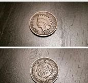 That's One Hell Of An Old Penny