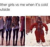 When It's Cold Outside