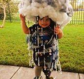 """Dressed As """"El Niño"""" For Halloween"""