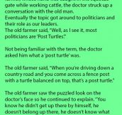 The Best Explanation Of Politicians I've Ever Heard.