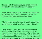 A Rancher Was Accused Of Not Paying His Employees A Fair Wage. Then He Said This.