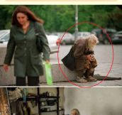 Old Abandoned Man Is A True Hero