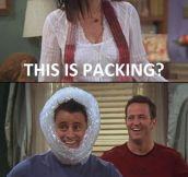 Classic Joey And Chandler