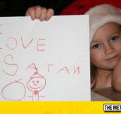 She Loves Satan Claus