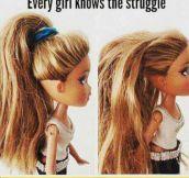 Long Hair Problems