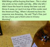 Woman Orders Extra Beer For Her Bro Who Passed Away Serving The Country. But Is Stunned When This Happens.