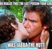Star War's Awkward Moment