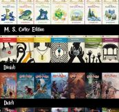 Covers Of Harry Potter Around The World