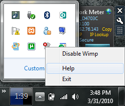 wimp1 How to Protect Computer From USB Flash Drive Autorun/Startup Viruses   Wimp