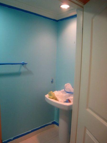Girl Makes A Super Mario Themed Bathroom