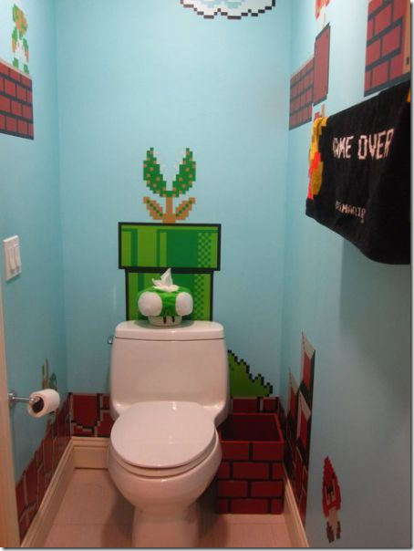 clip image008 thumb1 Girl Makes a Super Mario themed Bathroom