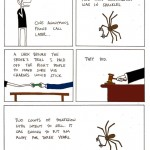 Me vs. spider