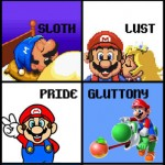 The Seven Deadly Sins Of Super Mario
