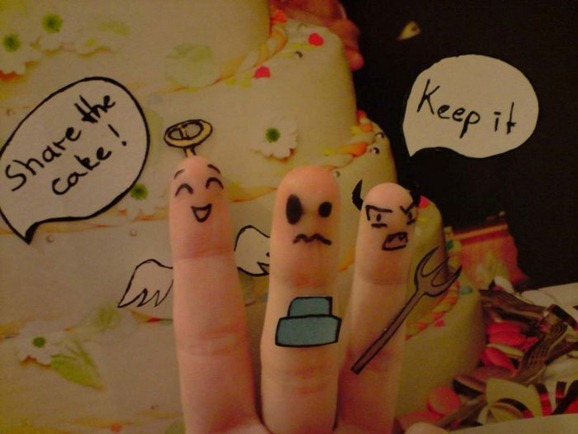 clip image01215 The Best Creative Drawings on Fingers