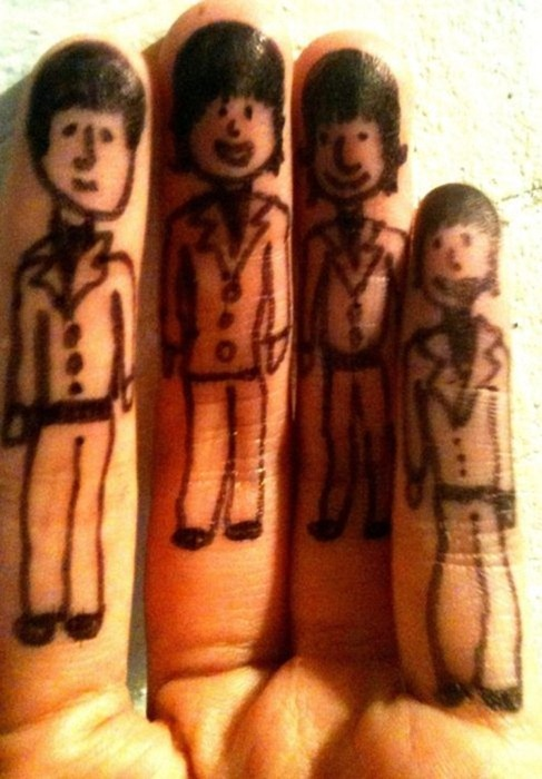 clip image01514 The Best Creative Drawings on Fingers