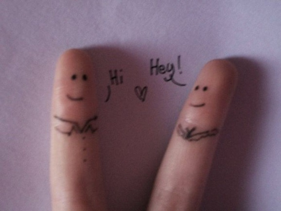 clip image0266 The Best Creative Drawings on Fingers
