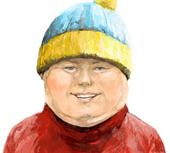 041611 0640 AnAmazingly1 An Amazingly Realistic Sketch of South Park Characters