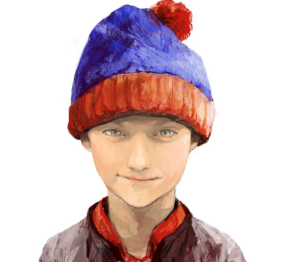 041611 0640 AnAmazingly4 An Amazingly Realistic Sketch of South Park Characters