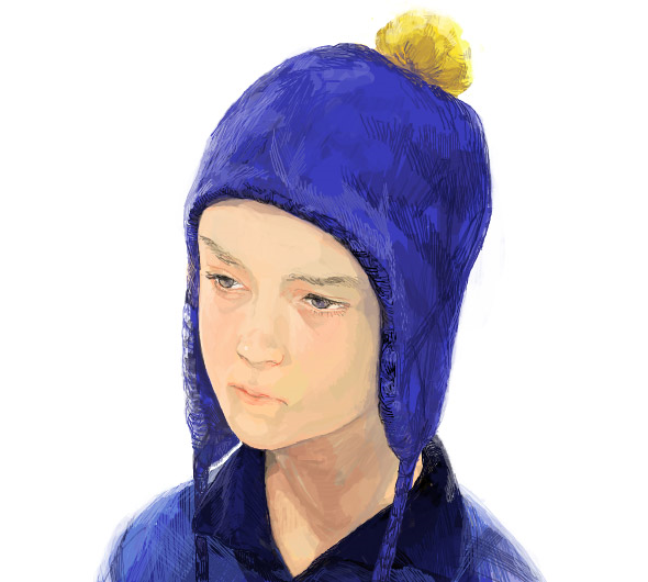 041611 0640 AnAmazingly9 An Amazingly Realistic Sketch of South Park Characters