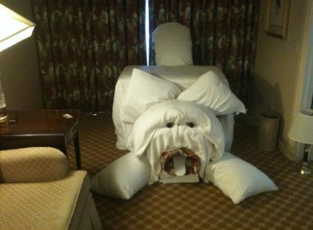 Hotel Pranks On Other Rooms