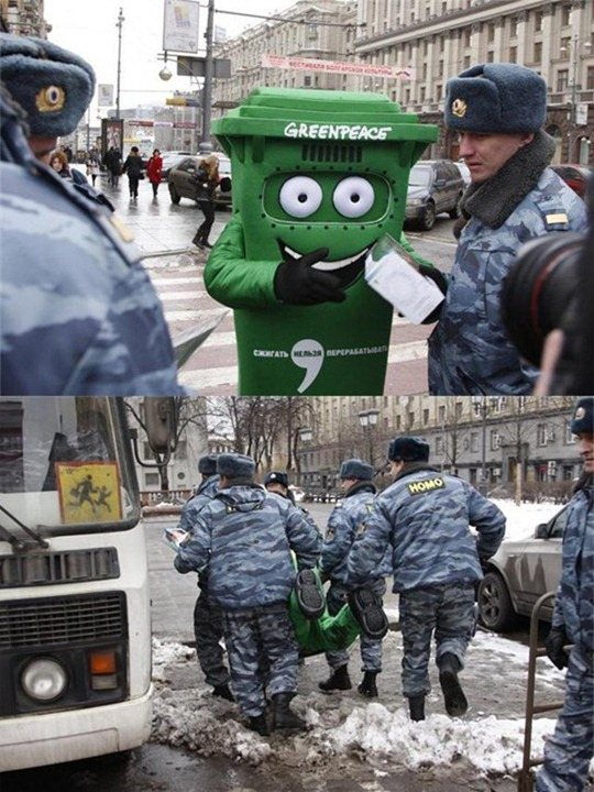 Meanwhile in Russia The Fate of Greenpeace in Russia