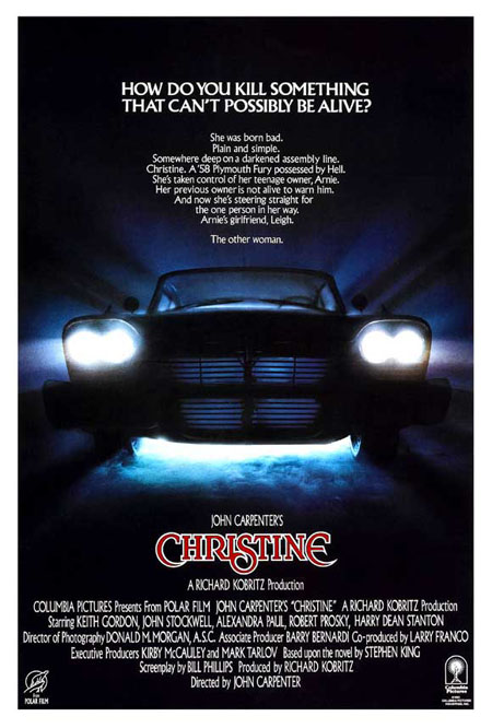 christine movie 20 Awesome Car Movies of All Time