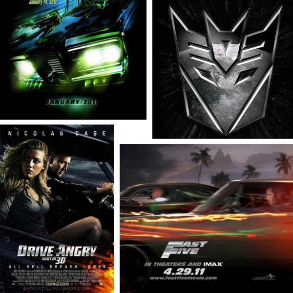 covers Top 5 Car Movies from 2011 You Shouldn't Miss